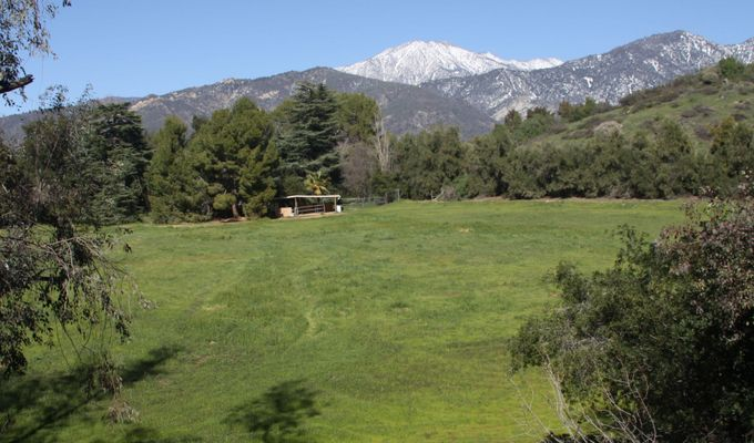 San Bernardino Peak from Pendleton Road in Yucaipa
